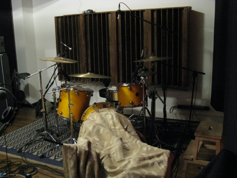 Aim Drums recording