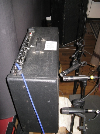 Fender Deville miking