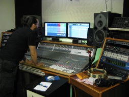 recording in Spazio Frequenze, Cantù (CO)