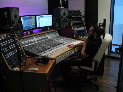 recording in Spazio Frequenze, Cantù (CO)